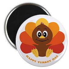 Happy Turkey Day Magnet