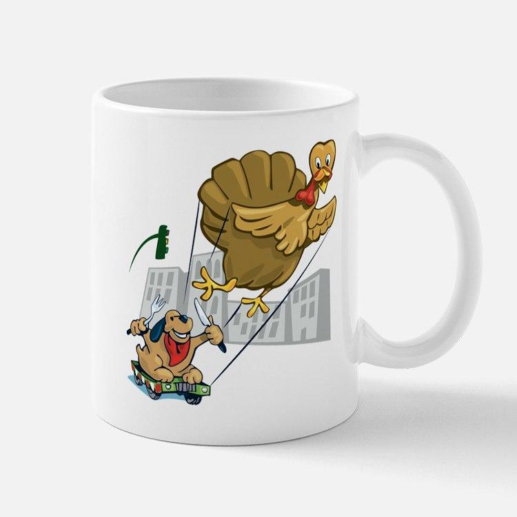 Floating Turkey Dinner Mug