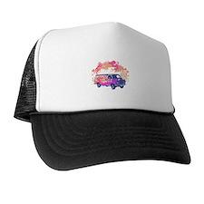 Retro Hippie Van Grunge Style Trucker Hat
