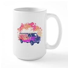 Retro Hippie Van Grunge Style Mug