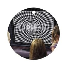 Obey Ornament (Round)