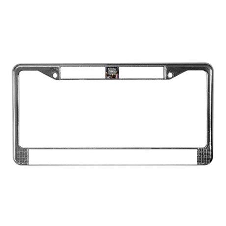 Obey License Plate Frame