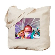 ChemTrail poisoning Tote Bag