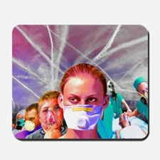 ChemTrail poisoning Mousepad