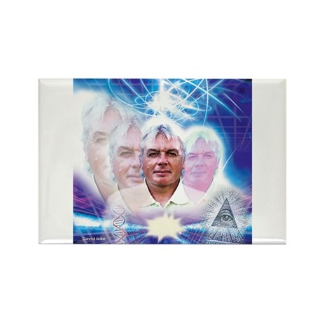 David Icke Rectangle Magnet (100 pack)