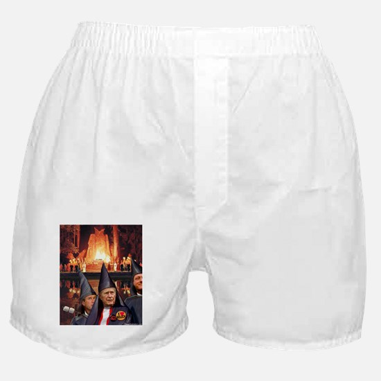 Bohemian Grove Bushes Boxer Shorts