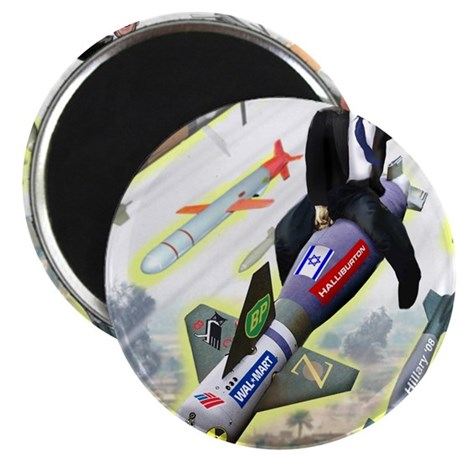 Bush Bombs Magnet