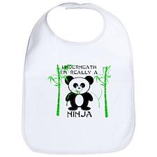 Ninja Panda Bib