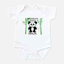 Ninja Panda Infant Bodysuit