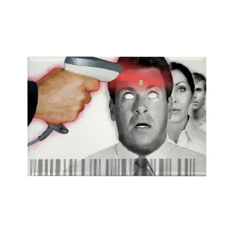 Microchipped Rectangle Magnet (100 pack)