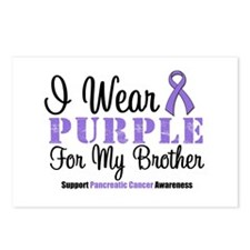 I Wear Purple (Brother) Postcards (Package of 8)