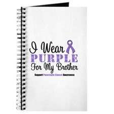 I Wear Purple (Brother) Journal