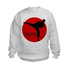 Trevor Martial Arts Sweatshirt