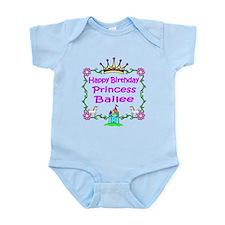 Happy Birthday Princess Bailee Infant Bodysuit