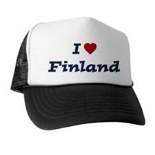 I HEART FINLAND Trucker Hat