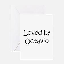 Cute Octavio Greeting Card