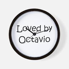 Cute Octavio Wall Clock