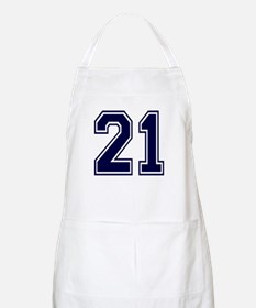 NUMBER 21 FRONT BBQ Apron