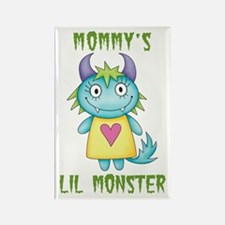 Mommy's Lil Monster Rectangle Magnet