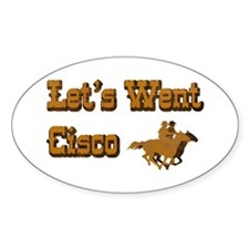 Let's Went Cisco Oval Decal