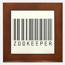 Zookeeper Barcode Framed Tile