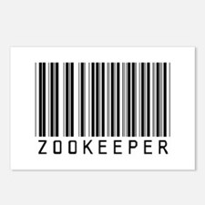 Zookeeper Barcode Postcards (Package of 8)