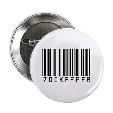 """Zookeeper Barcode 2.25"""" Button (10 pack)"""