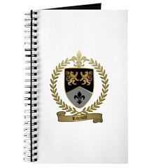 RIVAULT Family Crest Journal