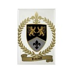 RIVAULT Family Crest Rectangle Magnet