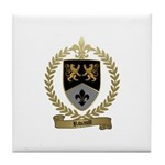 RIVAULT Family Crest Tile Coaster