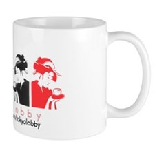 lobbyism g girl mug