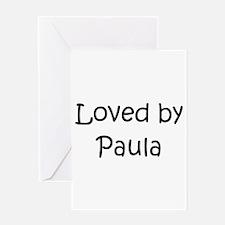 Cute Paula Greeting Card