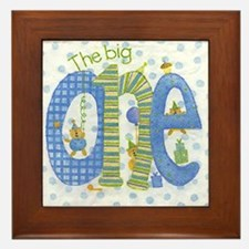 The Big One - 1st Birthday Framed Tile
