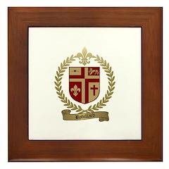 ROBILLARD Family Crest Framed Tile