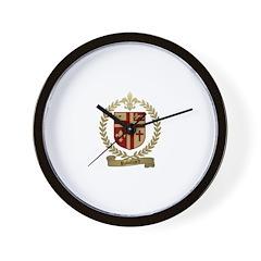ROBILLARD Family Crest Wall Clock