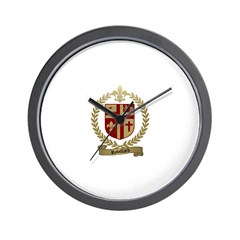 ROBILLARD Family Crest Wall Clock