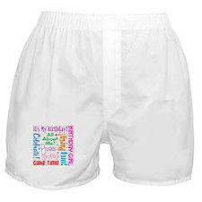 It's My Birthday Boxer Shorts
