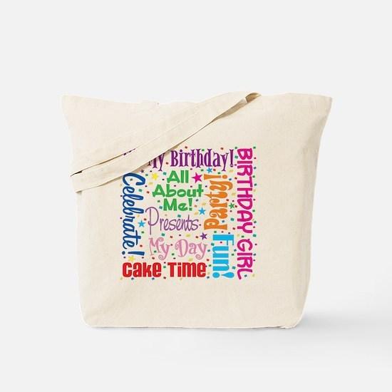 It's My Birthday Tote Bag