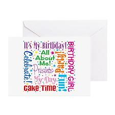 It's My Birthday Greeting Cards (Pk of 20)