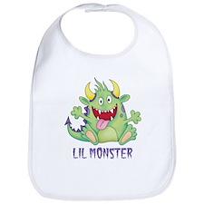 Lil Happy Monster Bib
