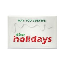 Holiday Humor Rectangle Magnet