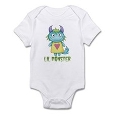 Lil Girl Monster Infant Bodysuit