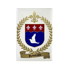ROBITAILLE Family Crest Rectangle Magnet (10 pack)