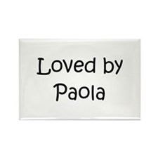 Cute Paola Rectangle Magnet