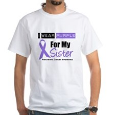 I Wear Purple For My Sister Shirt