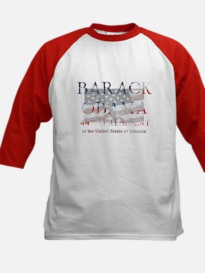 Barack Obama 44th President Kids Baseball Jersey