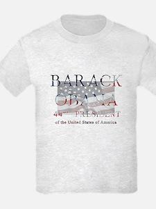 Barack Obama 44th President Kids T-Shirt