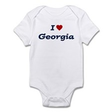 I HEART GEORGIA Infant Bodysuit