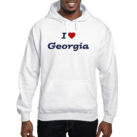 I HEART GEORGIA Hooded Sweatshirt