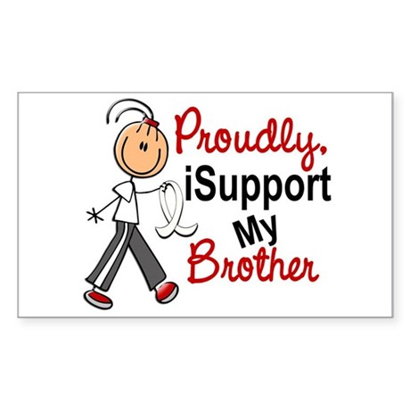 I Support My Brother 1 (SFT LC) Sticker (Rectangle